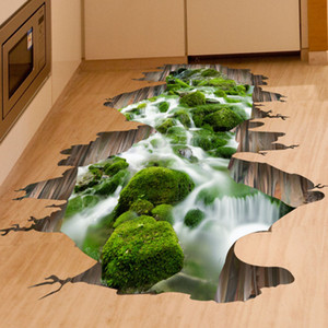 Горячее сбывание 3D стример стены стикера стены съемное Mural Decals Vinyl Art Домашнее украшение бесплатная доставка