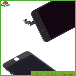 Tela 4.7 para iphone 6 6g display lcd com substituição de montagem de vidro toque digitador branco e preto
