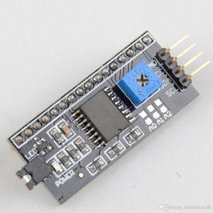 IIC / I2C / TWI Arduino 1602 Için Ekran Arayüzü Kurulu Modülü Liman LCD Ekran B00146 SADECE