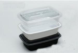 Yemek Hazırlık Konteynerleri Mikrodalga Porsiyon Kontrolü Tek Konteynerleri + Kapaklar Bento Box Lunch Kapaklı Kutu Tepsi