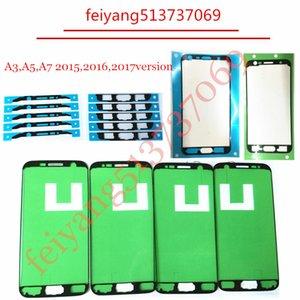 Orijinal LCD Ekran Çerçevesi Sticker Orta Plaka Çerçevesi Çerçeve İçin Samsung Galaxy A3 A5, A7 2015,2016, 2017 versiyonu Onarım Yedek