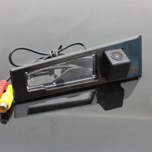 Car Rear View Camera For Cadillac SLS 2010~2015 Reverse Camera   HD CCD RCA NTST PAL   License Plate Light OEM
