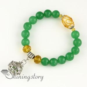 ajouré dangle gros médaillons parfum médaillon aromathérapie pendentifs bracelets de charme bracelets de perles perlés bracelets charme bracelets perf