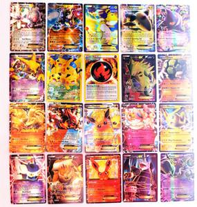 جديد بطاقة 100 قطعة بطاقة فلاش جمع GX بطاقات بطاقة لطيف مجموعة بطاقات لعبة البوكر ميجا النسخة الانجليزية اللعب للفتيات والفتيان الألعاب