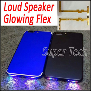 Per iPhone7 Smart Phone Music Lamp Glowing Flex Rendi il tuo altoparlante del telefono Shinning DIY Glowing Flex per iPhone 7 7Plus 6 6S Plus