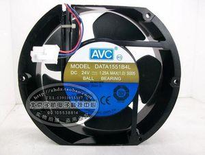 AVC DATA1551B4L 17250 24V 172*172*51mm three wire speed server cabinet fan