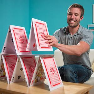 Regali di Natale King Size Carte da gioco Big Deck Poker Game Trucchi magici Giganti Enormi Carte da gioco Family Party Intrattenimento Carte da poker