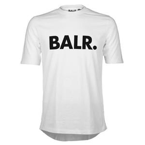 Ücretsiz Kargo Spor Futbol BALR T Shirt Erkekler Futbol balr Adam T-Shirt Pamuk O Boyun Erkek Euro Boyutu Tops