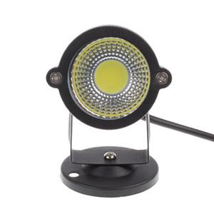 주도 COB 잔디 램프 야외 조명 DC12V / AC85-265V 3W IP65 방수 LED 정원 연못 경로 홍수 스포트 라이트 전구 에너지 절약 무료 shippi
