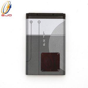 البطارية لنوكيا 5C 6600 BL-5C 1110 3100 6680 N70 الهاتف الخليوي استبدال بطارية ليثيوم أيون يمكن تخصيص logo