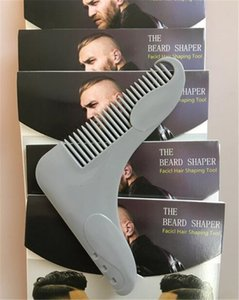 Beard Bro the Beard Shaping Tool for Perfect Lines Hair Trimmer for Men Trim Template Hair Cut Gentleman Modeling Comb