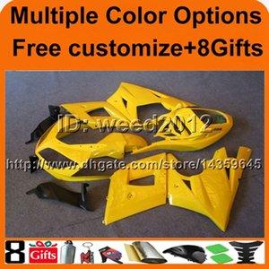 23 renk + 8Gift sarı Daytona 600 2003 2004 2005 Triumph Daytona 600 2003 2004 2005 için ABS motosiklet tekne kaportaları