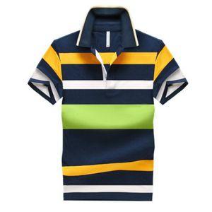 92٪ قطن Camisa الرجال القميص عادية مخطط سليم قصيرة الأكمام ASIAN SIZE M-4XL شحن مجاني
