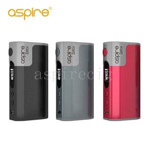 Authentic Aspire Zelos 50W TC Mod 2500mAh Built-in Lipo Battery Added In Stylish Design 510 Thread