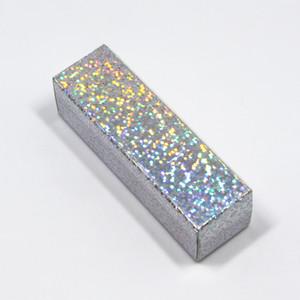 Papel Kraft Caja de regalo para el lápiz labial Aceite Esencial de empaquetado 80pcs / lot 2.5 * 2.5 * 8.5cm Boutique Pequeño regalo del arte de la botella caja de muestras