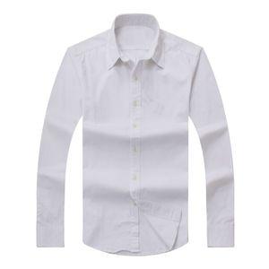 2017 nouveaux hommes à manches longues automne shirt Coton Polo Homme Casual solide Coupe régulière Mode Shirts pour hommes Livraison gratuite