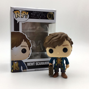 wholesale newest cool Funko POP Models Fantastic Beasts Where to Find Them Action Figure Collectible Toy Fantastic Beasts Model CCA7484 10cm