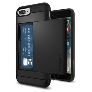 2017 new case Glissière Carte Slot Wallet ID Case Double Layer Anti-Shock Protecteur pour Samsung J310 J510 J710 A310 A510 A710
