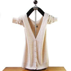 Gros-2020 automne et en hiver cachemire tricoté femmes pull col V en laine cardigans dames Plus couleurs Pull de fille
