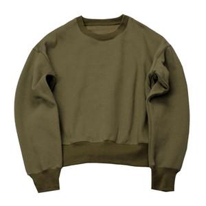 Atacado-Knaye Oeste Hoodies temporada 1 camisola homens de tamanho grande com capuz sportswear hoodies svitshot dos homens Chris Brown