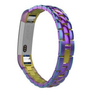 Fitbit Alta HR و Alta Bands ، حزام سوار ساعة عالمي بديل من الفولاذ المقاوم للصدأ مع قفل مطوي لـ Fitbit Alta / HR