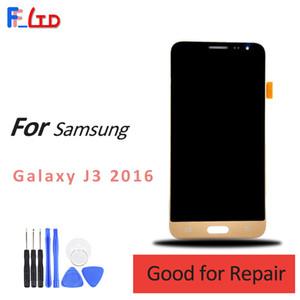 Écran de haute qualité pour Samsung Galaxy J3 2016 J320 J320F J320H J320M J320FN LCD Assemblée Digitizer Assemblée Remplacer Luminosité Réglable