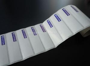 Etiquetas em rolos para impressão de transferência de calor de alta qualidade Adesivos personalizados impressão PET resistente a altas temperaturas / Uso de papel para impressora Dymo