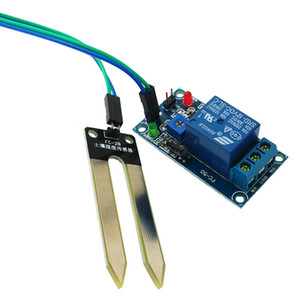 12V soil humidity sensor, relay control module, lower than humidity switch, automatic watering