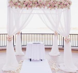 3 * 3 * 3 m quadrado duplo tubo crossbar de casamento quadro de tubulação, tubo e cortina de casamento arco, chuppah, pano de fundo