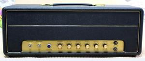 Tubo JCM800 50W Mão Wired guitarra elétrica Amplificador cabeça em preto Ponto a Ponto Circuit Board Construção Musical Instruments gratuito shippi