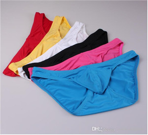 Mens Сексуальное белье Сексуальное мужские трусы Мужские плавки Гей Пенис Мешок для мужчин Bikini Beach Board Surf Shorts 6 цветов