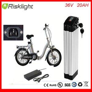 Şarj Ve BMS Lityum iyon pil 36volt 1000W İçin Elektrikli bisikletler ile Top deşarj özelleştirme Gümüş Balık Battery 36v 20ah