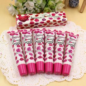 Nani Touch 7 Miracle Fit LipTatoo Pack Lip Gloss Gloss Peel-Off Dura 24h Sin mancha Lip Gloss 5 Colores Maquillaje Hidratante 600 PC / LOT DHL