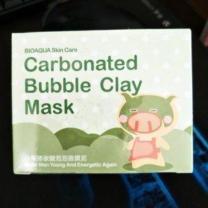 2017 BIOAQUA skin care pigskin collagen nourishing mask Carbonated Bubble Clay Mask Elizavecca Milky Piggy Moisturising Facial Sleep Masks