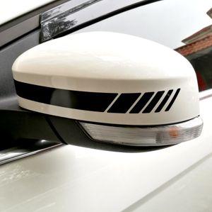Yourart Rearview Mirror 스티커 장식 Rear view Mirror 비닐 자동차 스티커 및 데칼 자동차 스타일링 Mercedes Benz AMG GLA GLK