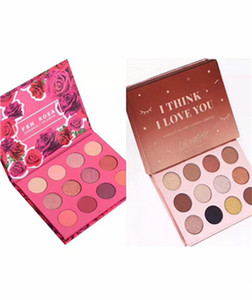 Colourpop Cosmetics X Karrueche Karrueche Fem Rosa She I think i love you Pressed Powder Eyeshadow Palette 12 color Eye shadow
