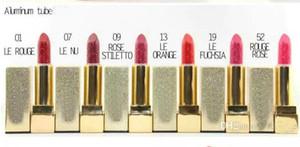 FRETE GRÁTIS! Nova Maquiagem Rouge Pur Couture Batom 6 Cores Diferentes (6 PÇS / LOTE)