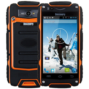 "Orijinal Keşif V8 IP68 Su Geçirmez Darbeye Dayanıklı Sağlam telefon MSM8212 Çift Çekirdekli 4 ""ekran 2800 mAh V8 Smartphone + B"