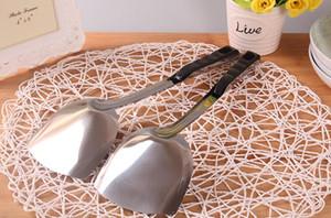En gros moins cher en acier inoxydable tourneur cuisinière pelle ustensiles de cuisine cuisine outil maison ustensiles de cuisine accessoires de cuisine gadget en stock