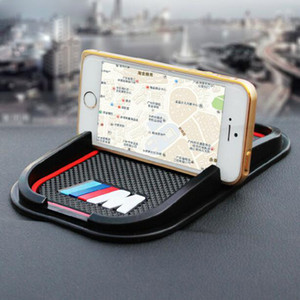 المضادة للانزلاق سيارة حصيرة الهاتف GPS دعم لاصقة للBMW M M3 M5 M6 E30 E34 F10 F15 F30 X1 X3 X5 X6 E36