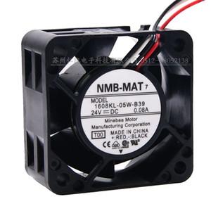 100% neue original NMB-MAT 1608KL-05W-B39 4020 0,08A 24 V drei drahtstromrichter lüfter