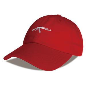 Baseball HEYBIG 6 Cap Snapback De Hip Hop Gun Curve Casquette Hat Painel Marque Visor Cap Uzi Roxnm