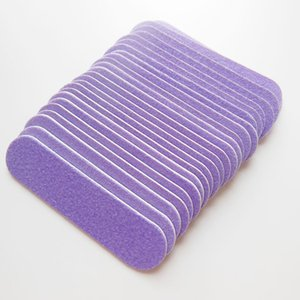 Wholesale- 500 pcs purple mini wood nail file baby nail file wooden emery board nail art tool free shipping
