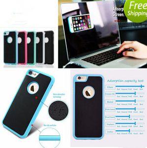 Für s8 plus iPhone 7 Plus Anti-Gravity Cases Für iPhone 6 6s Plus 5 5s se Magische Antischwerkraft Nano Saugnapf Adsorbiert