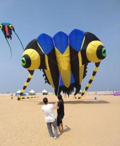 16sqm لينة طائرة ورقية 3D ضخمة لينة عملاقة ثلاثية Trilobites طائرة ورقية الرياضة في الهواء الطلق سهلة للطيران