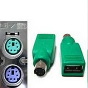 NOVO 2016 Venda de Férias Teclado Mouse PS2 PS / 2 para USB Um Conversor Adaptador Feminino