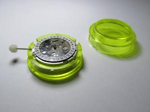 جودة عالية 2813 A2813 مع تاريخ حركة الساعة الميكانيكية التلقائية للرجال إصلاح سوار المعصم المرأة إصلاح أجزاء التبعي
