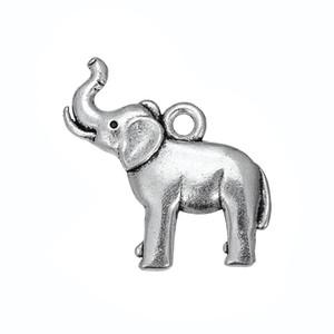 50 PCS Prata Antiga Animal Encantos Dangle Pendurado Animal Charme Jóias DIY Acessórios Encantos