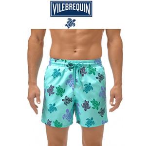 Ünlü Marka Erkekler Şort Plaj Hızlı kuruyan Plaj Şort Kurulu Giyim Erkek mayolar Boardshorts Sandıklar Erkek Şort gündelik Büyük Boyut