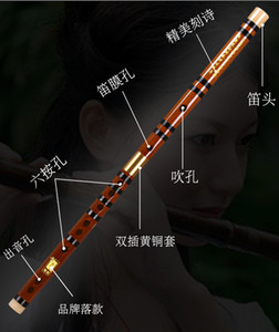 Made in China Good Timbre Classic Keys Bamboo G F D Flute Dizi Kit